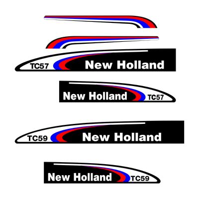 New Holland TC57 Logo ,Logo , icon , SVG New Holland TC57 Logo