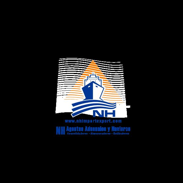 NH Agentes Aduanales y Navieros Logo ,Logo , icon , SVG NH Agentes Aduanales y Navieros Logo