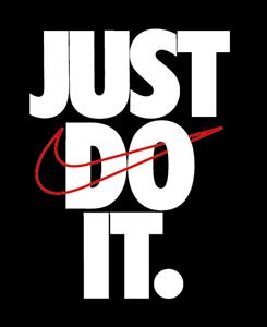 Convención trabajador compañero  nike Just do it Logo [ Download - Logo - icon ] png svg