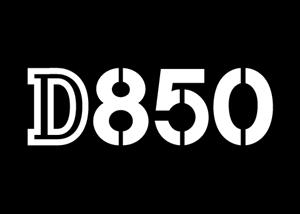 Nikon D850 Logo ,Logo , icon , SVG Nikon D850 Logo