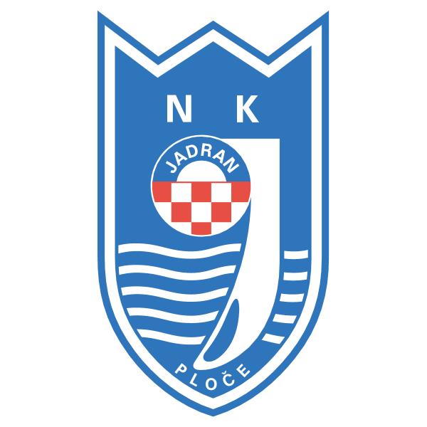NK Jadran Luka Ploče Logo ,Logo , icon , SVG NK Jadran Luka Ploče Logo