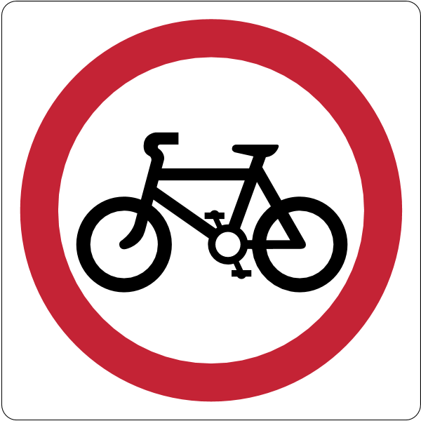 No cycling Logo ,Logo , icon , SVG No cycling Logo