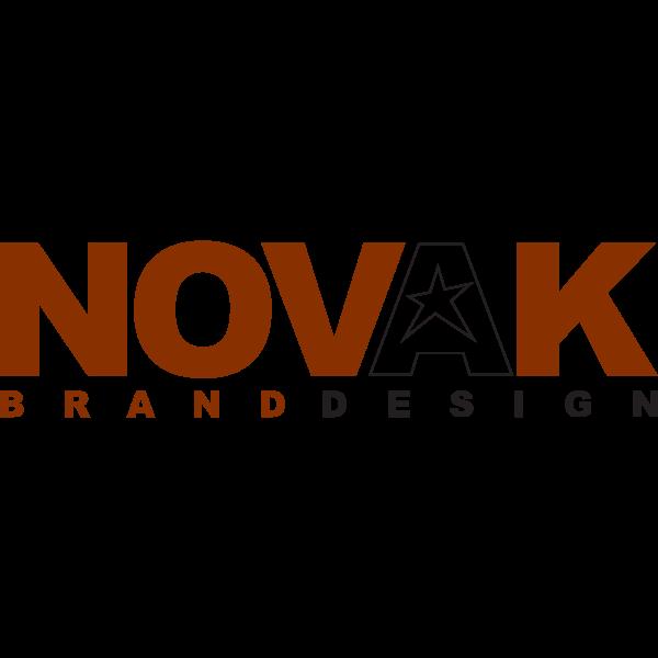 NOVAK Brand Design Logo ,Logo , icon , SVG NOVAK Brand Design Logo