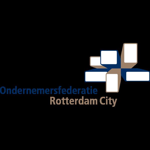 Ondernemersfederatie Rotterdam City Logo ,Logo , icon , SVG Ondernemersfederatie Rotterdam City Logo