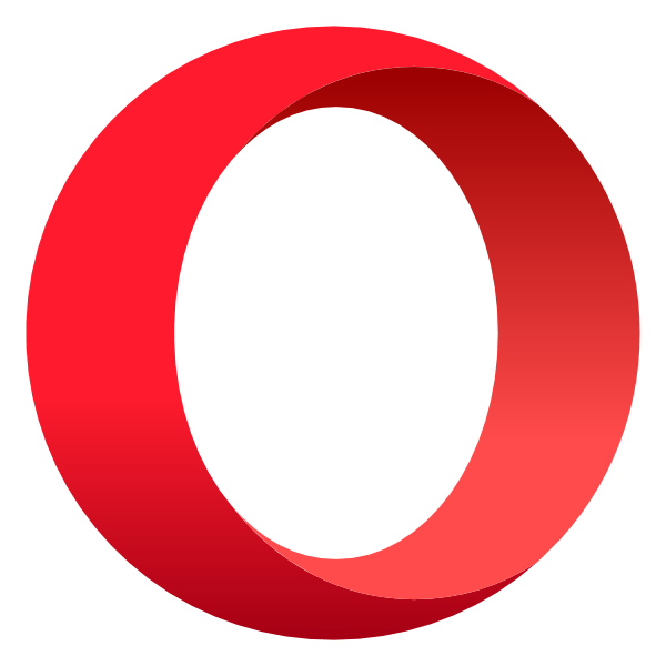opera ,Logo , icon , SVG opera