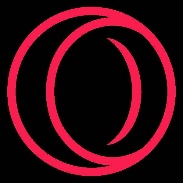 opera gx ,Logo , icon , SVG opera gx