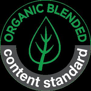 organic blended content standard Logo ,Logo , icon , SVG organic blended content standard Logo