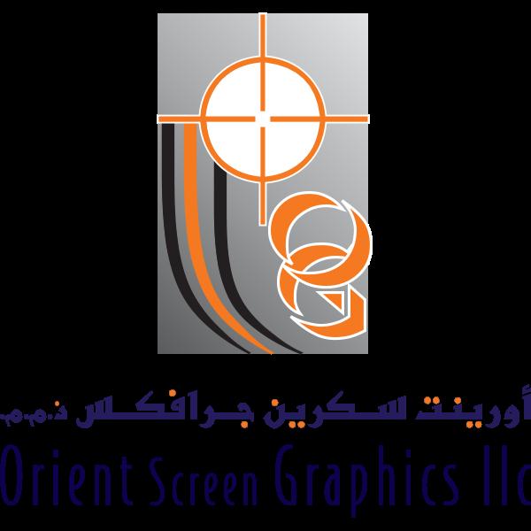 Orient Screen Graphics Logo ,Logo , icon , SVG Orient Screen Graphics Logo
