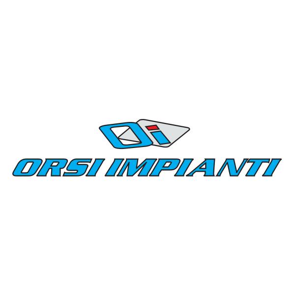 Orsi Impianti Logo ,Logo , icon , SVG Orsi Impianti Logo