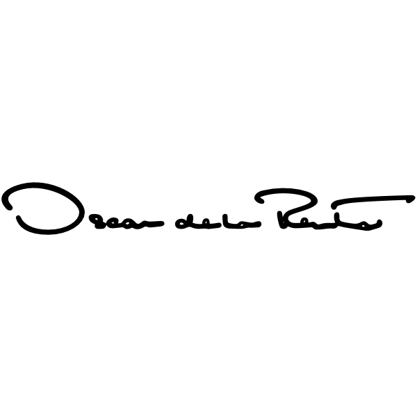 OSCAR DE LA RENTA LOGO BLACK RGB ,Logo , icon , SVG OSCAR DE LA RENTA LOGO BLACK RGB