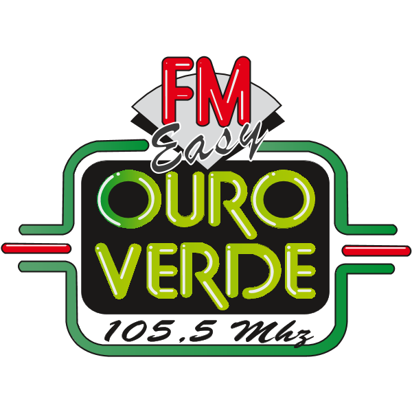 Ouro Verde FM Easy Logo ,Logo , icon , SVG Ouro Verde FM Easy Logo