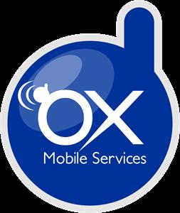 OX Mobile Services Logo ,Logo , icon , SVG OX Mobile Services Logo