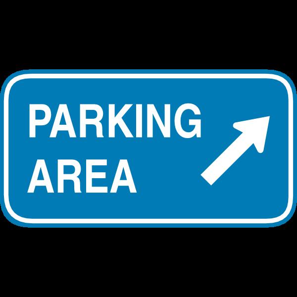 PARKING AREA HIGHWAY SIGN Logo ,Logo , icon , SVG PARKING AREA HIGHWAY SIGN Logo