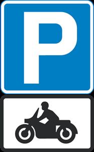 PARKING MOTORCYCLES Logo ,Logo , icon , SVG PARKING MOTORCYCLES Logo