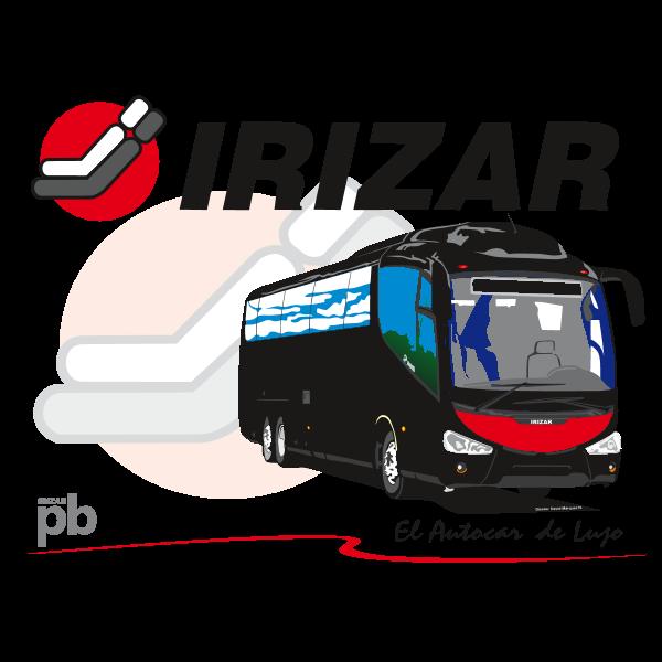 pb IRIZAR el autocar de lujo Logo ,Logo , icon , SVG pb IRIZAR el autocar de lujo Logo