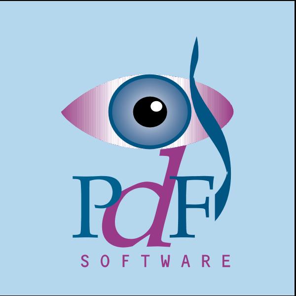 PDF Software Logo ,Logo , icon , SVG PDF Software Logo