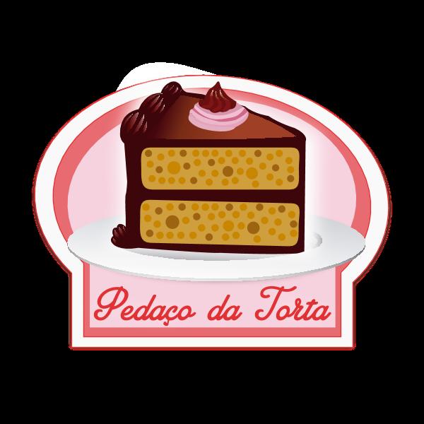 Pedaço da Torta Logo