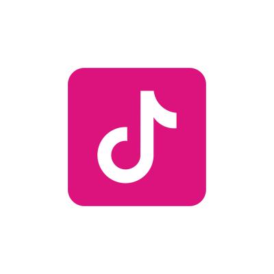 pink tiktok logo ,Logo , icon , SVG pink tiktok logo