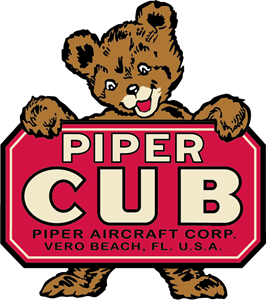 Piper Cub (Antique) Logo ,Logo , icon , SVG Piper Cub (Antique) Logo