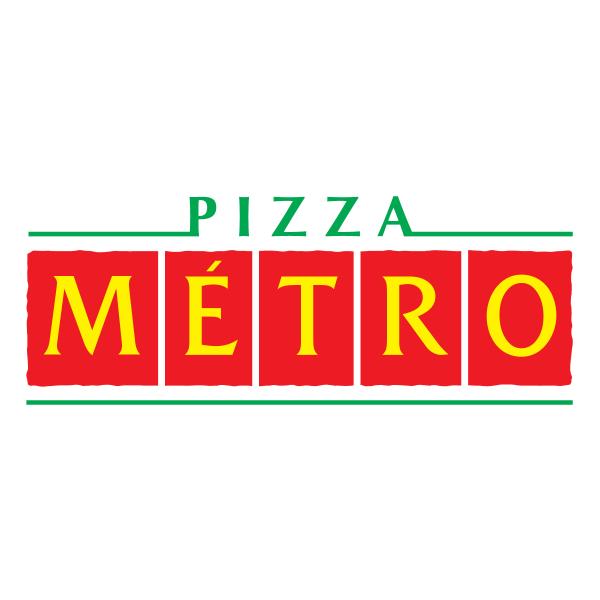 Pizza Metro Logo ,Logo , icon , SVG Pizza Metro Logo
