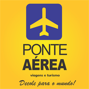 Ponte Aérea – Viagens e Turismo Logo ,Logo , icon , SVG Ponte Aérea – Viagens e Turismo Logo