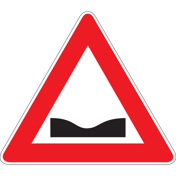 POTHOLE ROAD SIGN Logo ,Logo , icon , SVG POTHOLE ROAD SIGN Logo