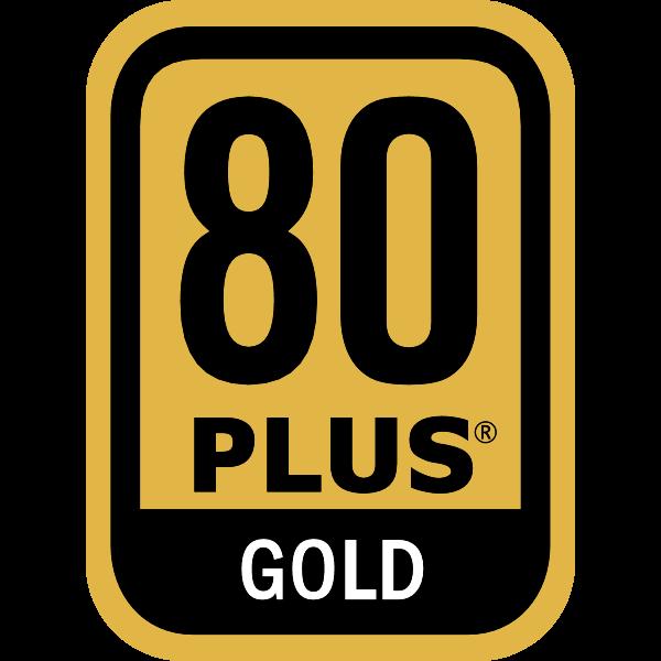 Power Supply 80 PLUS Gold Certification Logo ,Logo , icon , SVG Power Supply 80 PLUS Gold Certification Logo