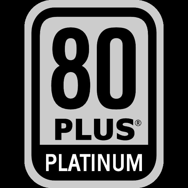 Power Supply 80 PLUS Platinum Certification Logo ,Logo , icon , SVG Power Supply 80 PLUS Platinum Certification Logo