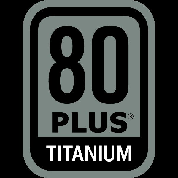 Power Supply 80 PLUS Titanium Certification Logo ,Logo , icon , SVG Power Supply 80 PLUS Titanium Certification Logo