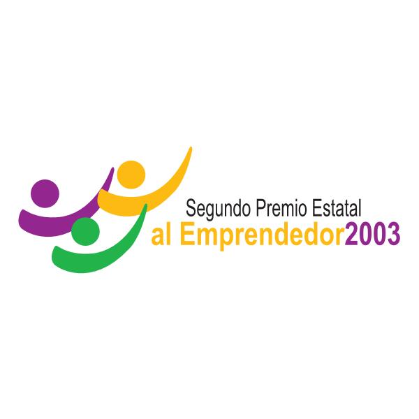 Premio Estatal al Emprendedor 2003 Logo ,Logo , icon , SVG Premio Estatal al Emprendedor 2003 Logo