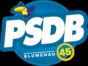 PSDB   Blumenau Logo ,Logo , icon , SVG PSDB   Blumenau Logo