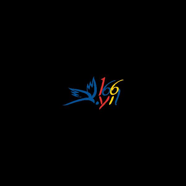 PTT'nin 166.yili Logo ,Logo , icon , SVG PTT'nin 166.yili Logo