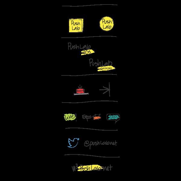 PushLab  – Laboratorio de Ideas y experiencias 360 Logo ,Logo , icon , SVG PushLab  – Laboratorio de Ideas y experiencias 360 Logo