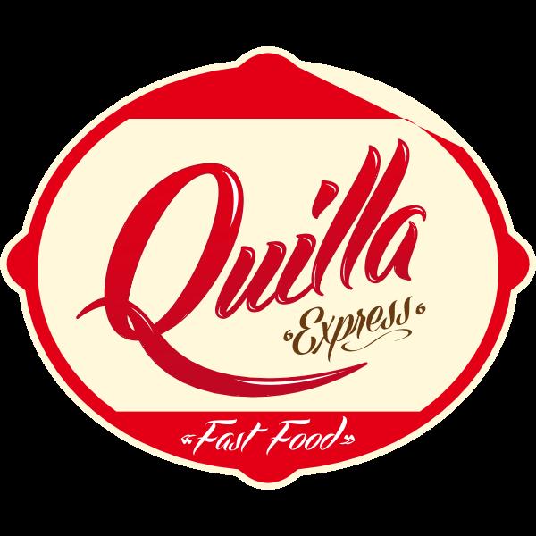 Quilla Express Fast Food Logo ,Logo , icon , SVG Quilla Express Fast Food Logo