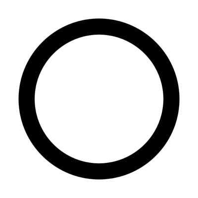 radio button off ,Logo , icon , SVG radio button off