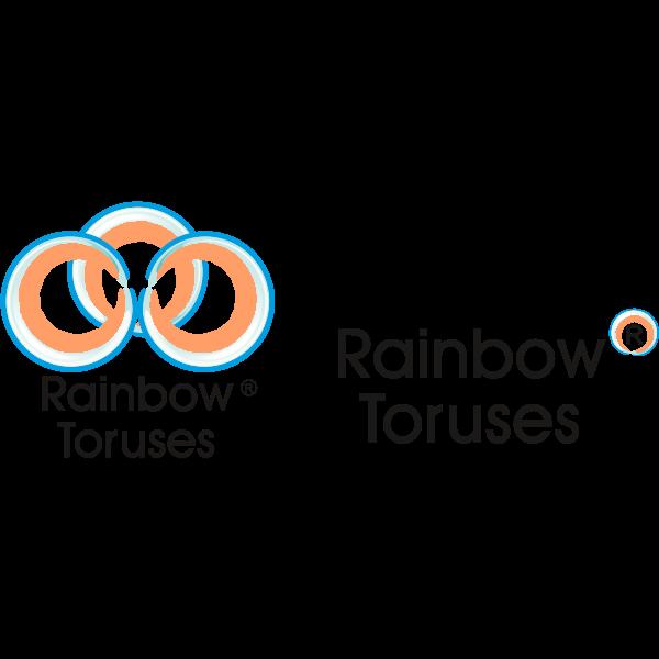 rainbow toruses Logo ,Logo , icon , SVG rainbow toruses Logo