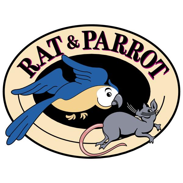 Rat & Parrot ,Logo , icon , SVG Rat & Parrot