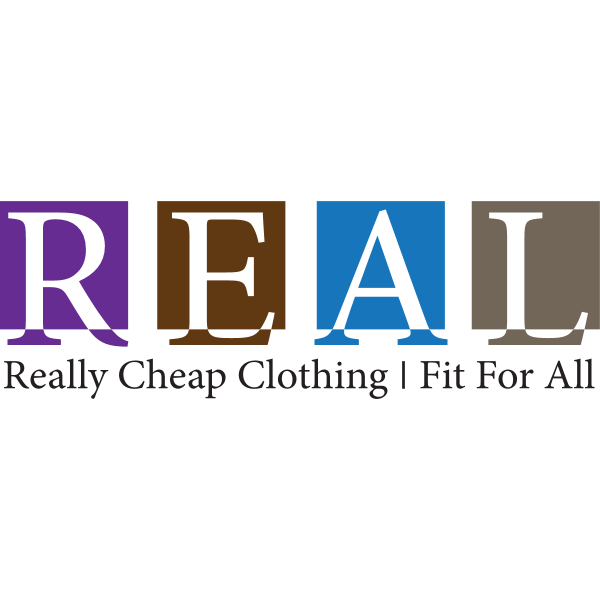 Real Clothing Brand by Stareon Logo ,Logo , icon , SVG Real Clothing Brand by Stareon Logo