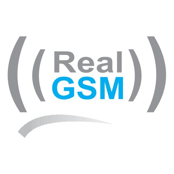 Real GSM Logo ,Logo , icon , SVG Real GSM Logo