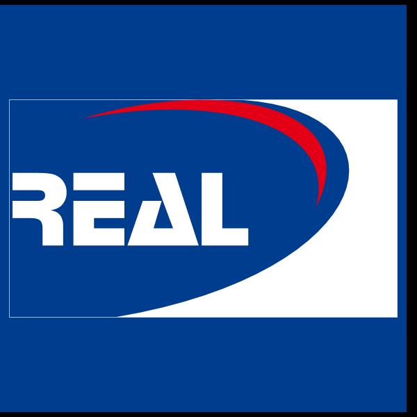 Real Transporte e Turismo Fundo Azul Logo ,Logo , icon , SVG Real Transporte e Turismo Fundo Azul Logo