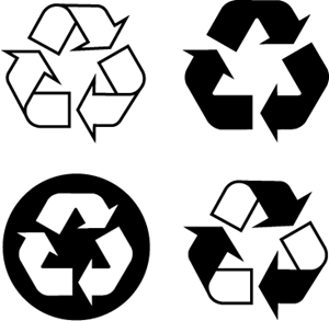 Recyclable, recycling Logo ,Logo , icon , SVG Recyclable, recycling Logo