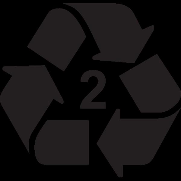 RECYCLING SYMBOL TYPE 2 Logo ,Logo , icon , SVG RECYCLING SYMBOL TYPE 2 Logo