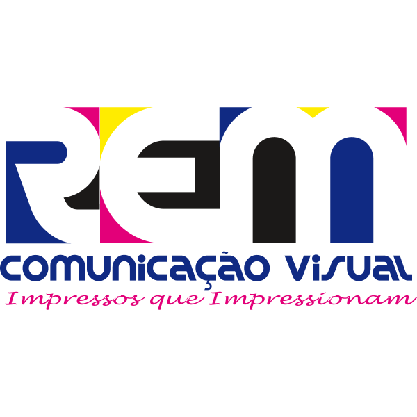 REM Comunicação Visual Logo ,Logo , icon , SVG REM Comunicação Visual Logo