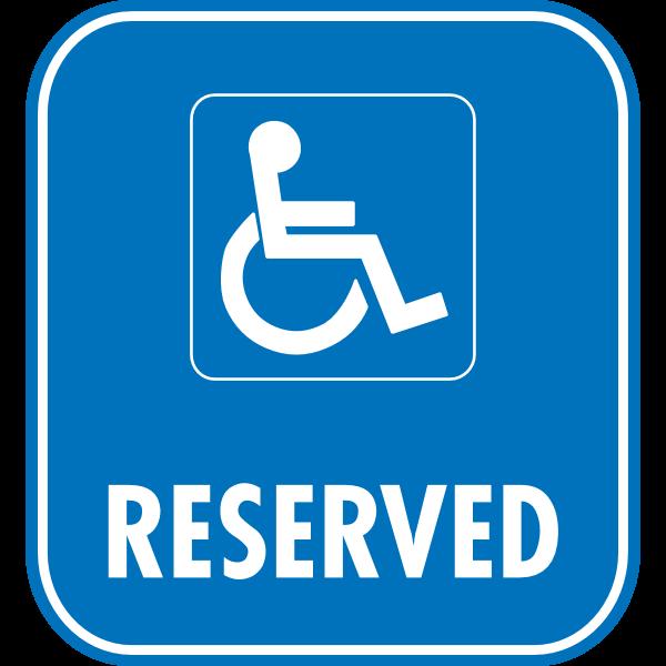 RESERVED PARKING ROAD SIGN Logo ,Logo , icon , SVG RESERVED PARKING ROAD SIGN Logo