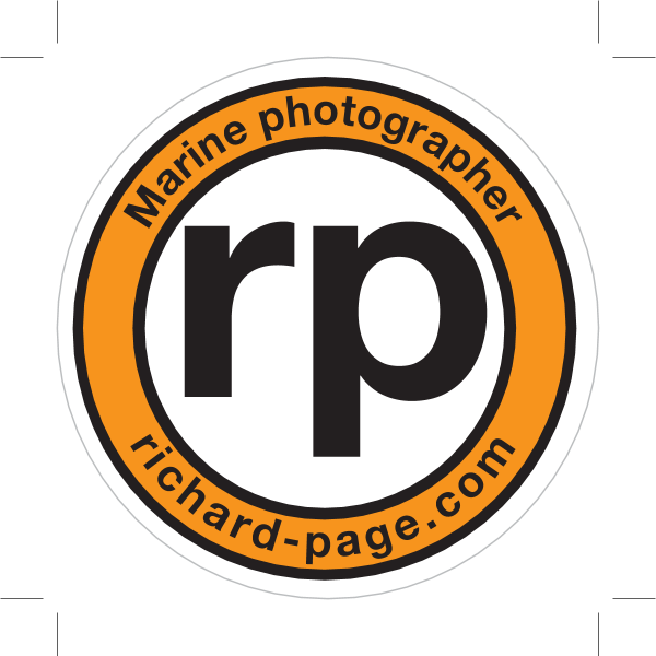 Rich Page – Marine Photographer Logo ,Logo , icon , SVG Rich Page – Marine Photographer Logo