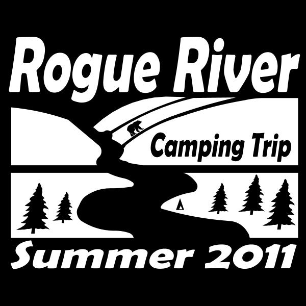 Rogue River Camping Trip Logo ,Logo , icon , SVG Rogue River Camping Trip Logo