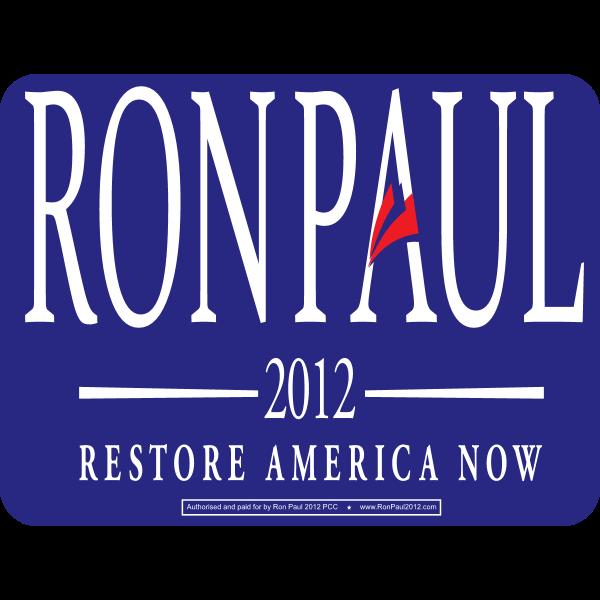 Ron Paul 2012 republican presidential candidate Logo ,Logo , icon , SVG Ron Paul 2012 republican presidential candidate Logo