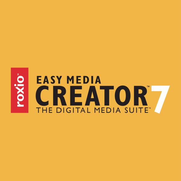 Roxio Easy Media Creator 7 Logo ,Logo , icon , SVG Roxio Easy Media Creator 7 Logo