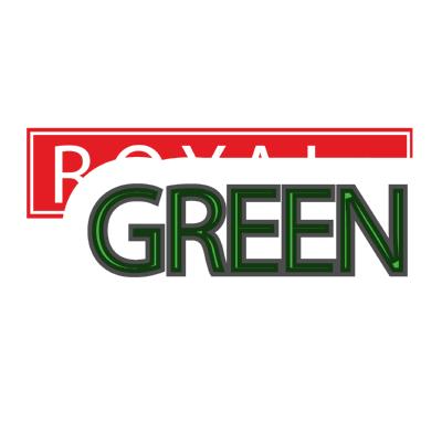 royal green ,Logo , icon , SVG royal green