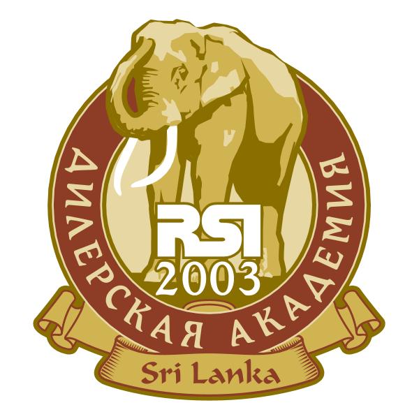 RSI SriLanka 2003 Logo ,Logo , icon , SVG RSI SriLanka 2003 Logo